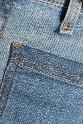 RAG & BONE Santa Cruz mid-rise cropped flared jeans