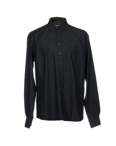 Фото - Джинсовая рубашка от HAMAKI-HO синего цвета