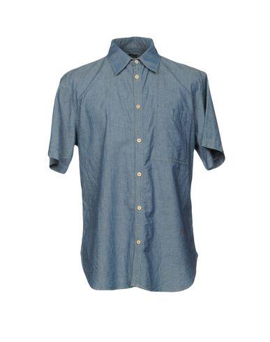 Джинсовая рубашка размер 52 цвет синий