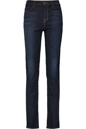 J BRAND Maria high-rise straight-leg jeans