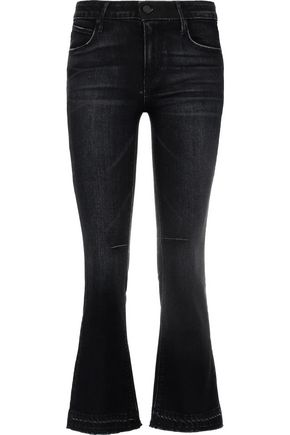 RTA Mid-rise flared jeans
