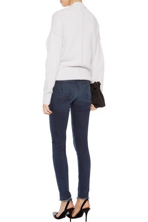 RTA Monroe mid-rise distressed skinny jeans