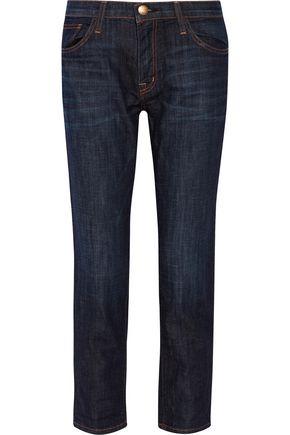 CURRENT/ELLIOTT The Fling cropped boyfriend jeans