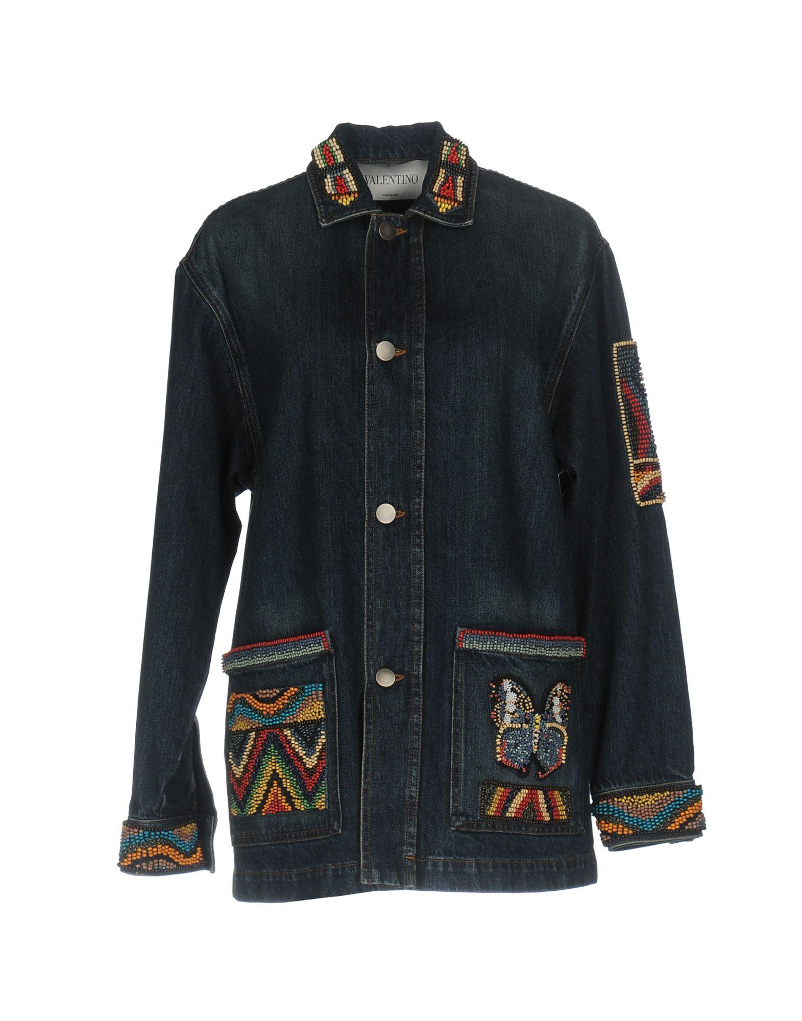 VALENTINO Джинсовая верхняя одежда