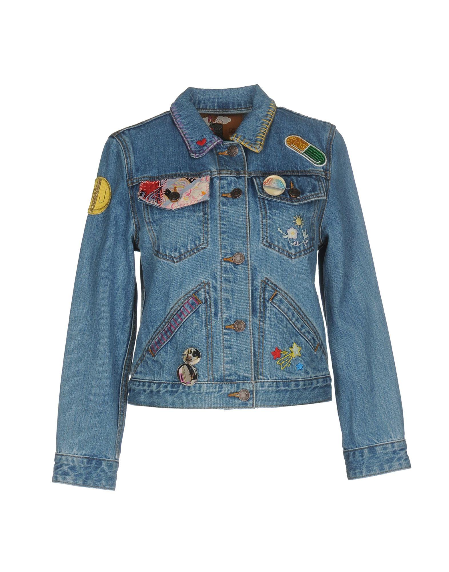 Фото - MARC JACOBS Джинсовая верхняя одежда брошь blucome bijouteria esmaltes 7106100495