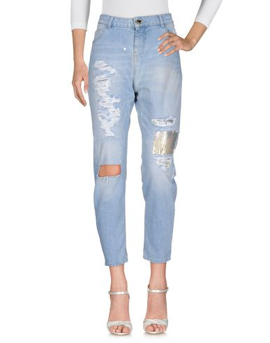 Фото - Джинсовые брюки от TWIN-SET JEANS синего цвета