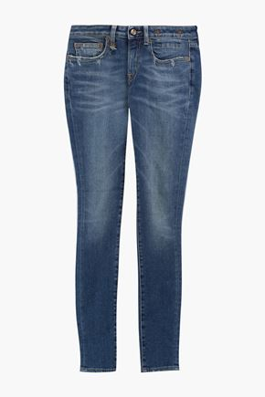 R13 Kate low-rise skinny jeans