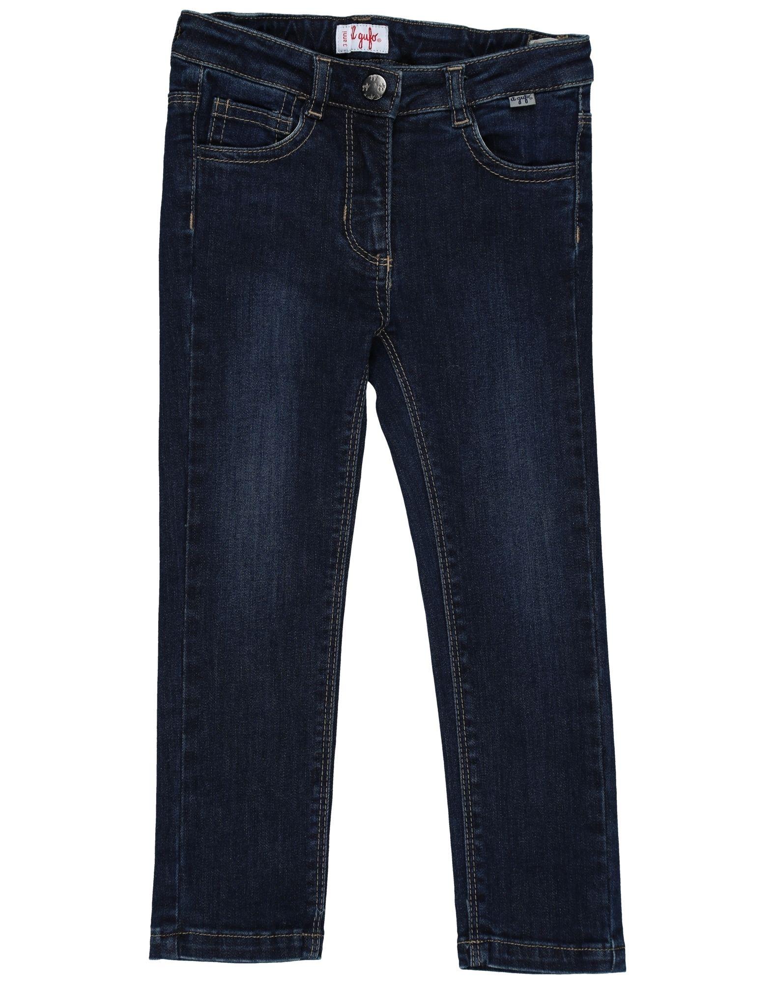 IL GUFO Джинсовые брюки il drop повседневные брюки