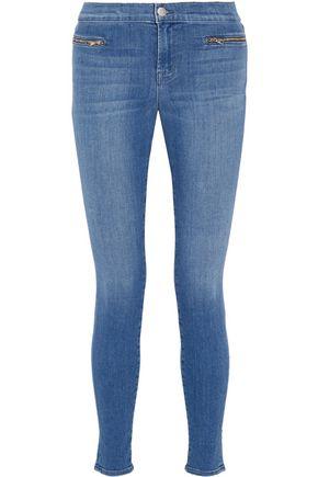 J BRAND Emma Super Skinny mid-rise jeans