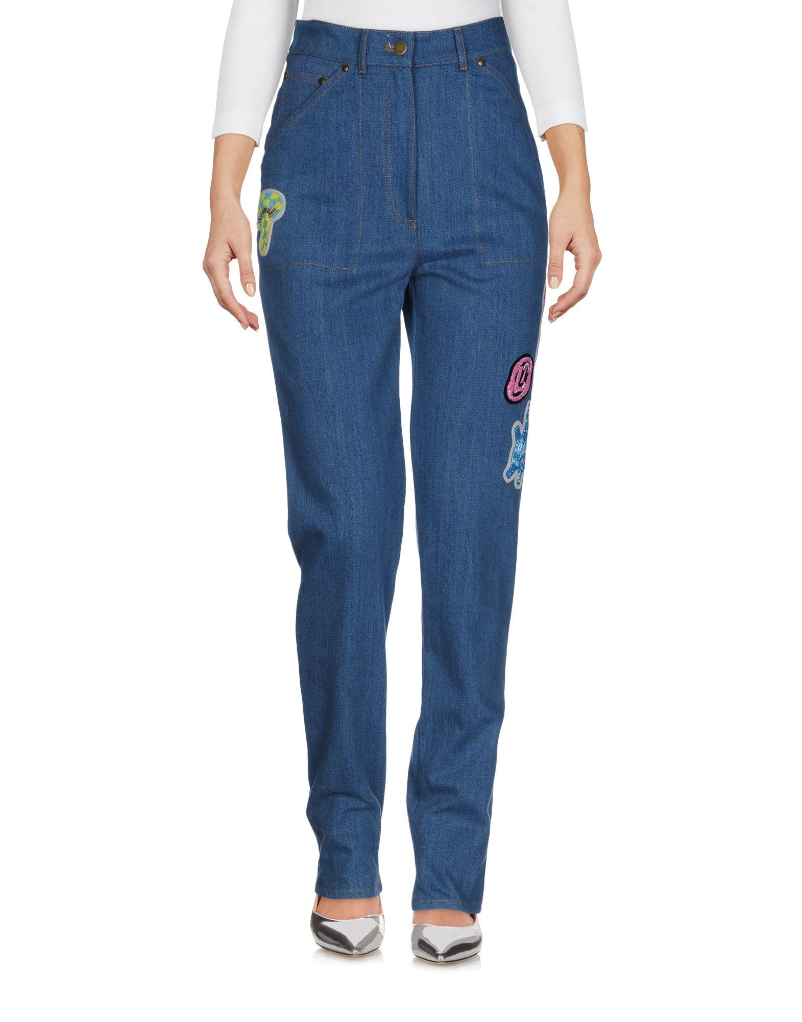 OLYMPIA LE-TAN Джинсовые брюки olympia le tan x disney сумка на руку