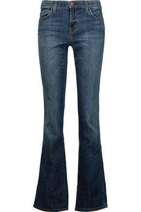 CURRENT/ELLIOTT The Slim Boot mid-rise bootcut jeans