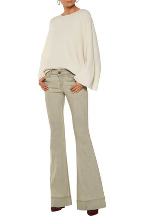 ALICE + OLIVIA Ryley mid-rise flared jeans