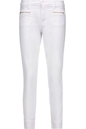 J BRAND Talon cropped mid-rise skinny-leg jeans