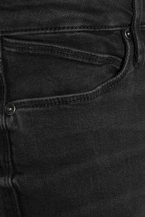 RTA Jackson mid-rise distressed bootcut jeans