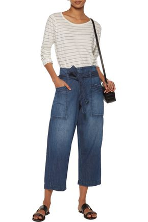CURRENT/ELLIOTT The Trapunto cropped boyfriend jeans