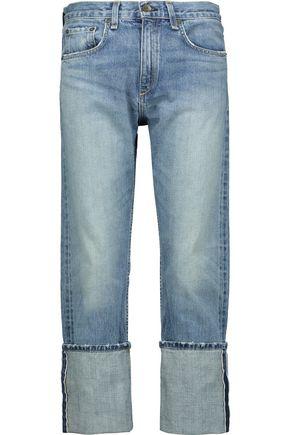 RAG & BONE Marilyn cropped mid-rise straight-leg jeans