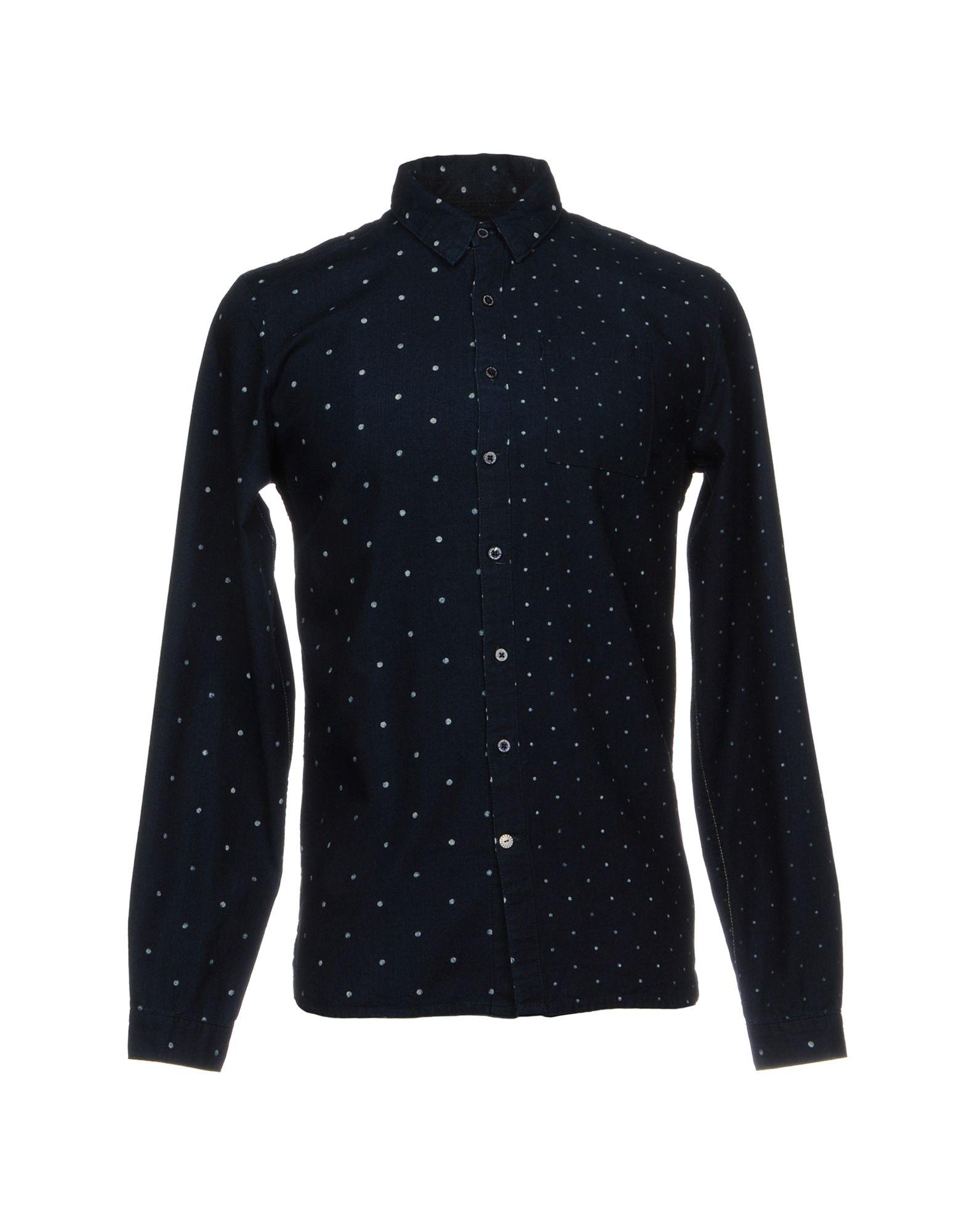 SCOTCH & SODA Джинсовая рубашка рубашка в мелкий горошек