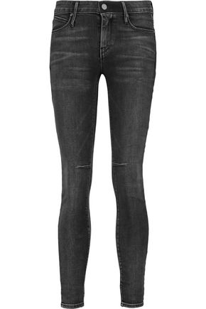 RTA Prince high-rise cropped skinny jeans