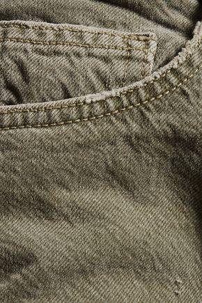 CURRENT/ELLIOTT The Fling faded boyfriend jeans