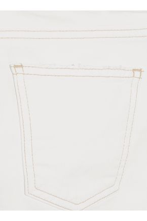 CURRENT/ELLIOTT The Kick Jean cropped mid-rise bootcut jeans