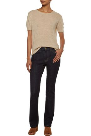 CURRENT/ELLIOTT The Slim mid-rise straight-leg jeans