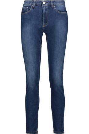 acne jeans skin 5 used blue