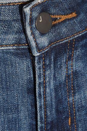 J BRAND Mid-rise straight-leg jeans