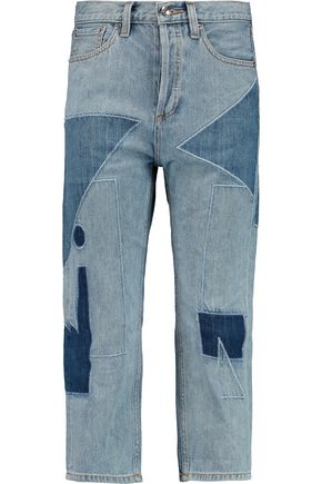 MARC BY MARC JACOBS | Marc By Marc Jacobs Big Cropped Patchwork Jeans | Goxip