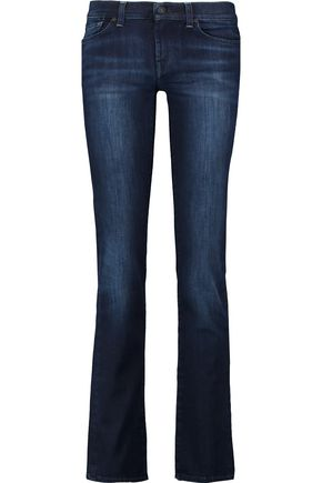 7 FOR ALL MANKIND Low-rise slim-leg jeans