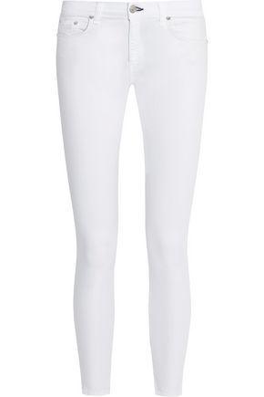 RAG & BONE/JEAN Capri cropped mid-rise skinny jeans