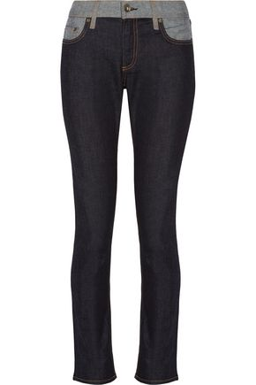RAG & BONE Dre two-tone boyfriend jeans