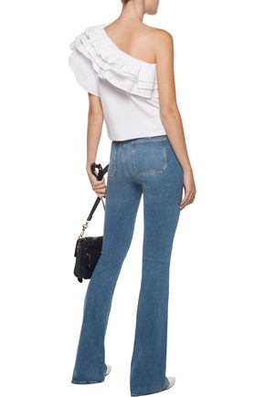 M.I.H JEANS Bodycon Marrakesh mid-rise flared jeans