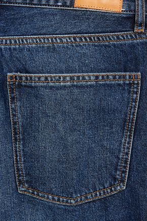 M.I.H JEANS Caron cropped mid-rise wide-leg jeans