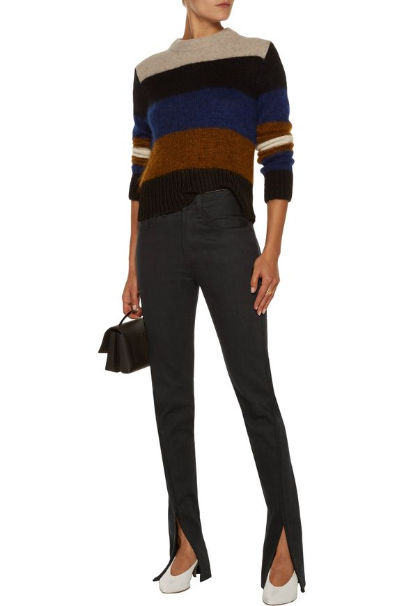 High-rise cord embroidered-trim flared jeans | RAG & BONE | Sale up to 70%  off | THE OUTNET