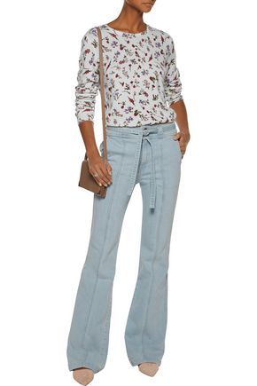 JOIE Sonic high-rise flared jeans