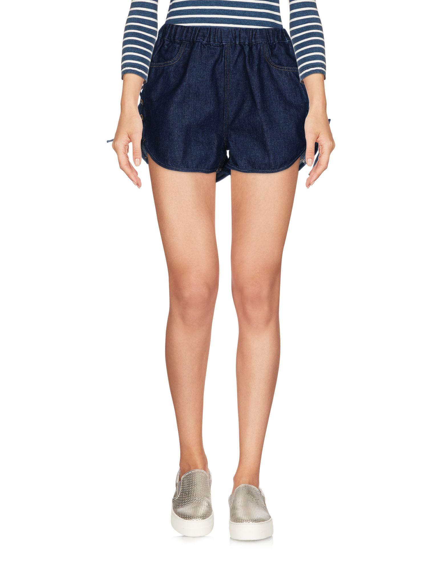 (+) PEOPLE Джинсовые шорты superfine джинсовые шорты