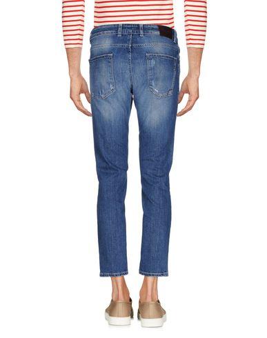 Фото 2 - Джинсовые брюки-капри от MICHAEL COAL синего цвета