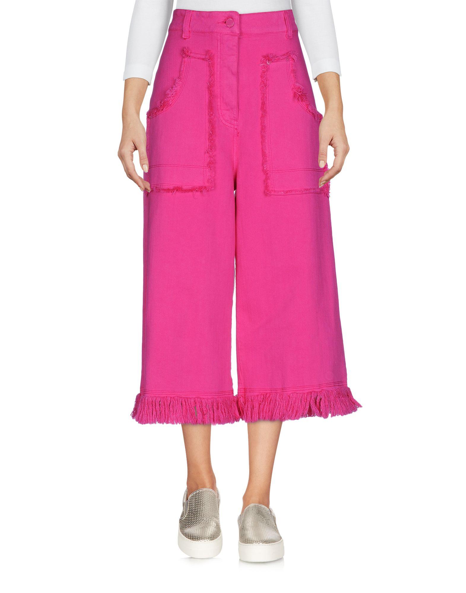 LOVE MOSCHINO Джинсовые брюки-капри