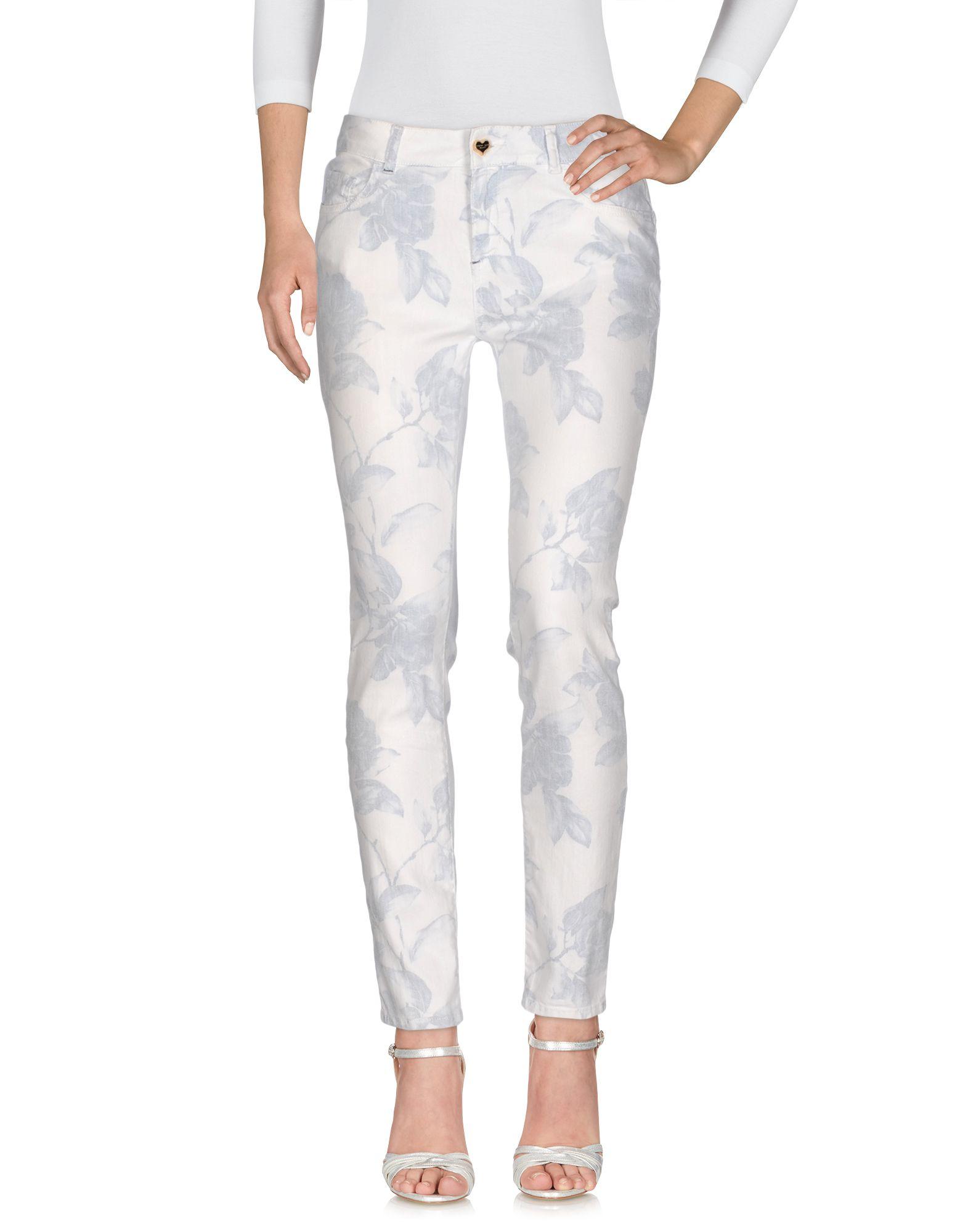 TWIN-SET JEANS Джинсовые брюки dismero джинсовые брюки