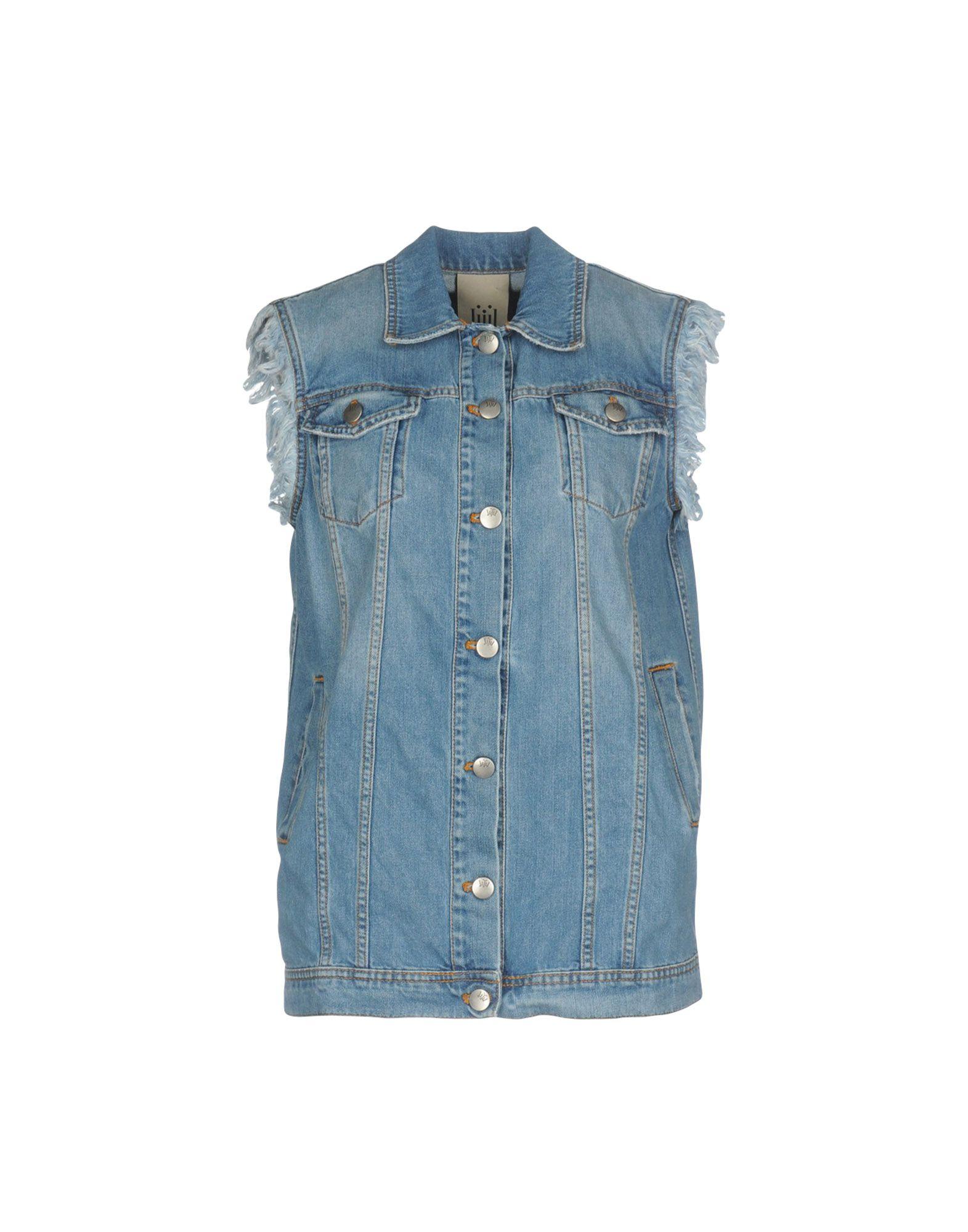 JIJIL Джинсовая верхняя одежда wood wood джинсовая верхняя одежда
