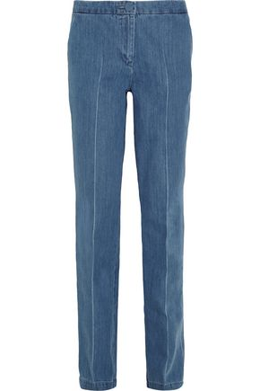 TOPSHOP UNIQUE Whitcomb high-rise straight-leg jeans