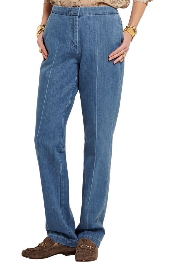 Whitcomb high-rise straight-leg jeans | TOPSHOP UNIQUE | Sale up to 70% off  | THE OUTNET