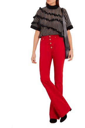 SONIA RYKIEL High-rise flared jeans