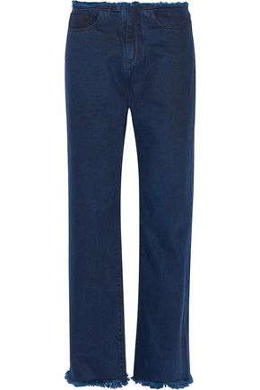 MARQUES ' ALMEIDA Frayed mid-rise boyfriend jeans