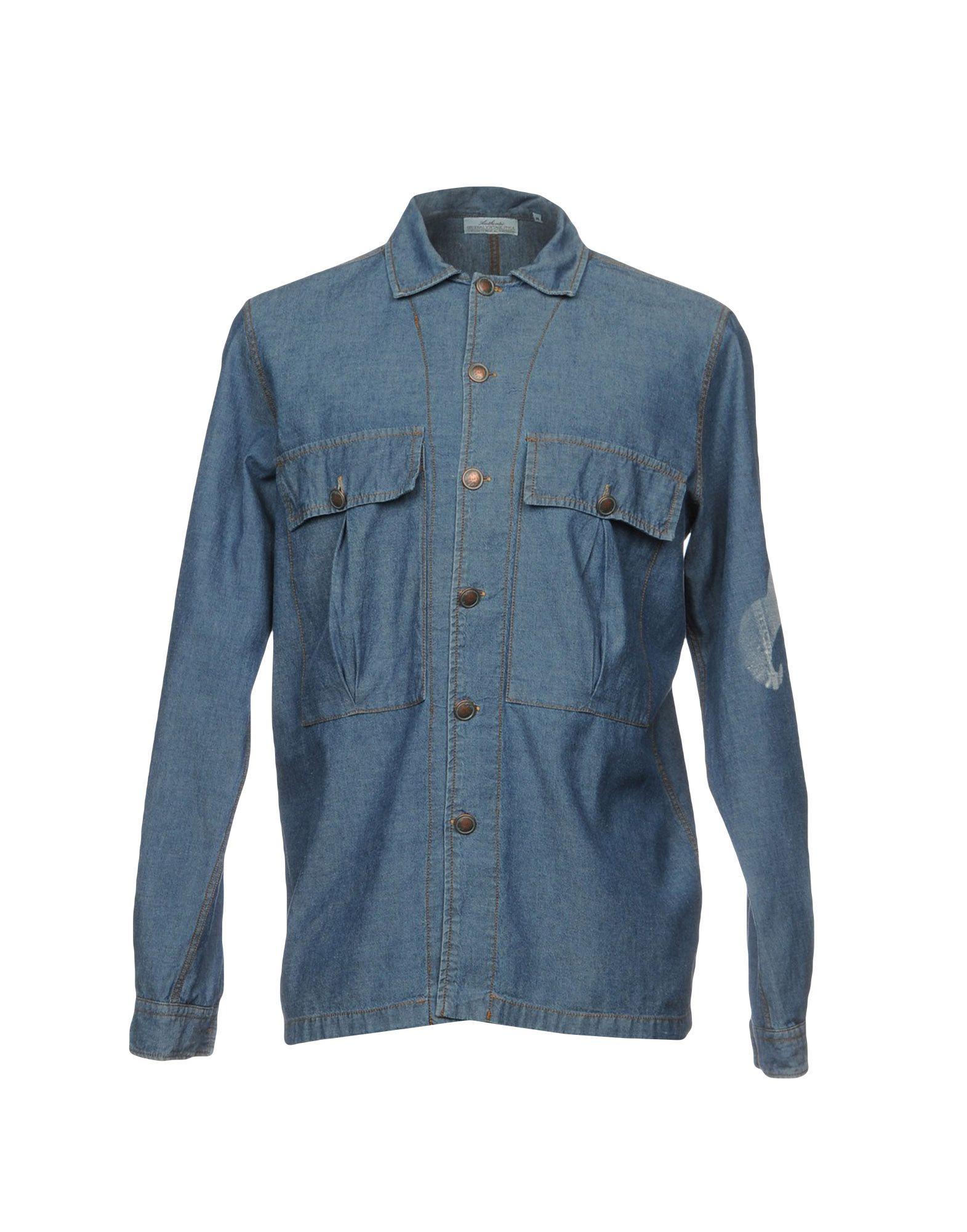 цена на AUTHENTIC ORIGINAL VINTAGE STYLE Джинсовая рубашка