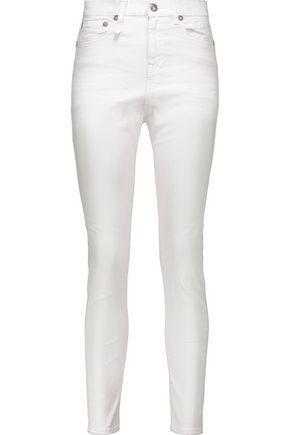 R13 Mid-rise slim-leg jeans