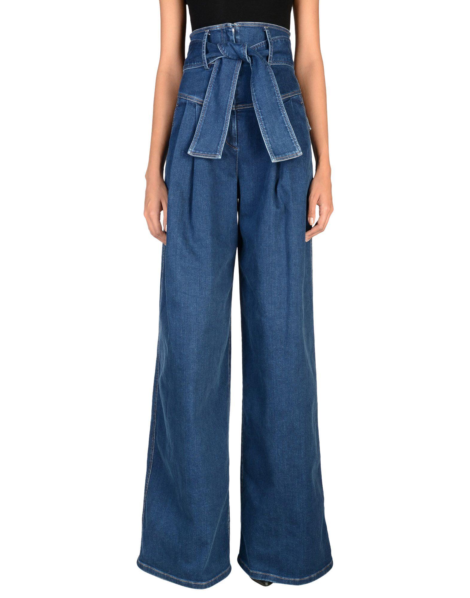 SARA BATTAGLIA Джинсовые брюки sara battaglia короткое платье