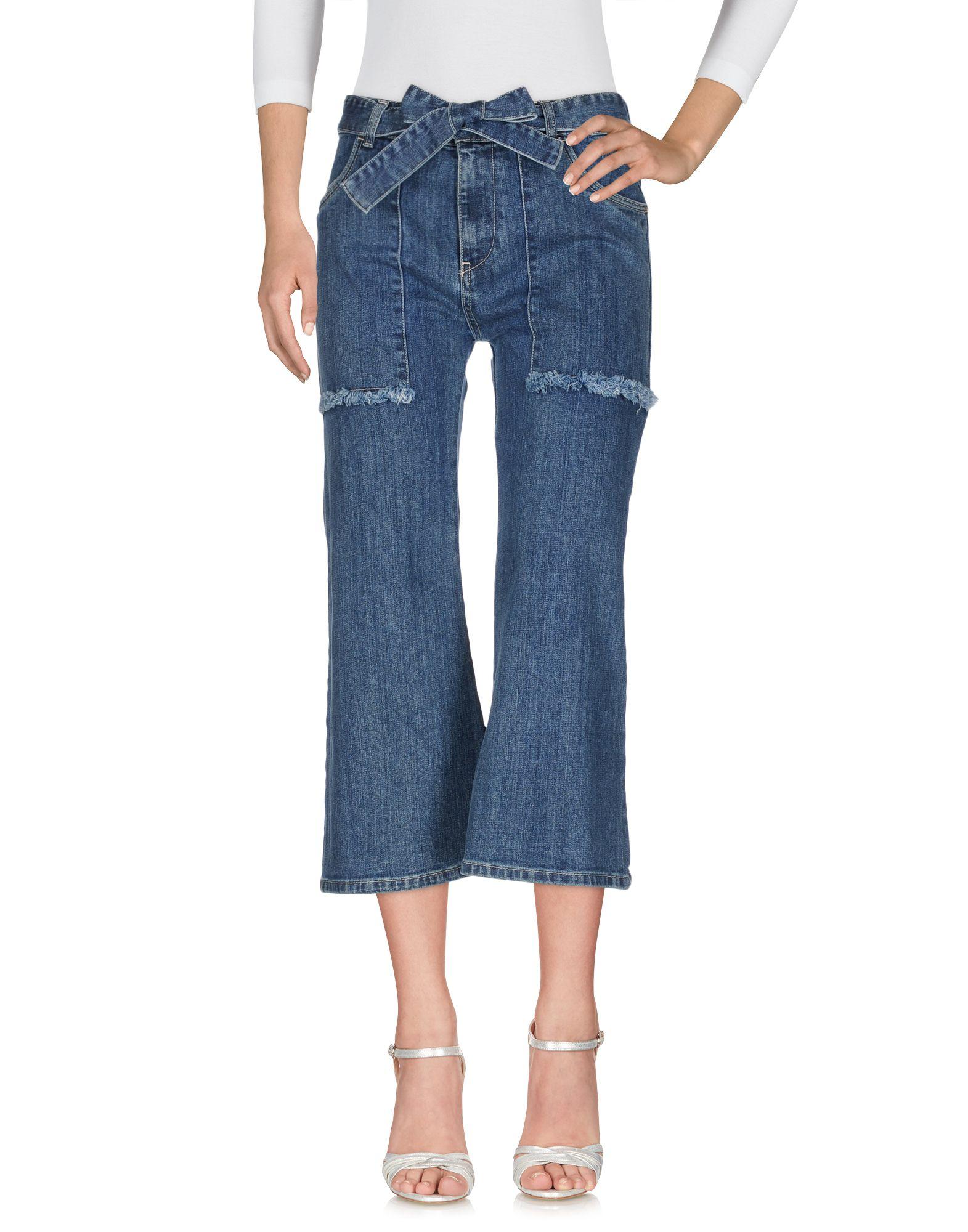 RUE•8ISQUIT Джинсовые брюки цена 2017