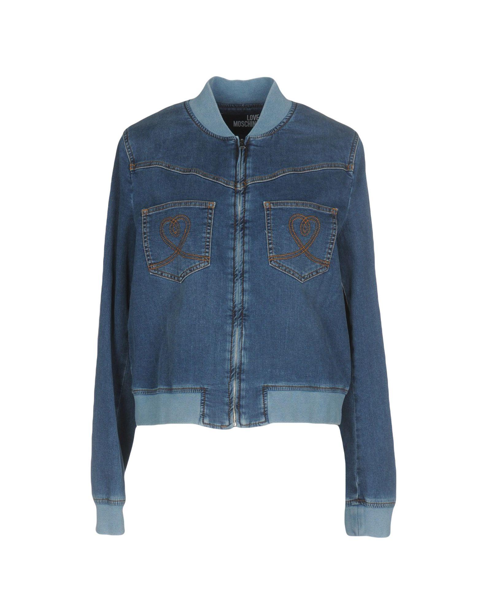 LOVE MOSCHINO Джинсовая верхняя одежда diesel джинсовая верхняя одежда