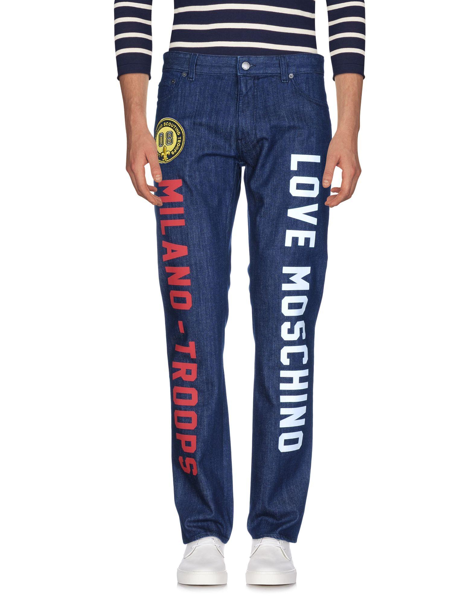 ФОТО love moschino джинсовые брюки